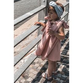 FR1 Dziecięce Błyszczące Sandały Srebrne Natalie srebrny 6