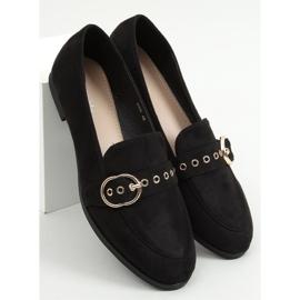 Mokasyny damskie czarne GQ05 Black 3