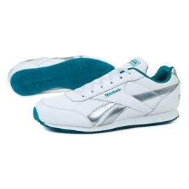 Buty Reebok Royal Cljog 2 Jr EH0865 białe niebieskie 1