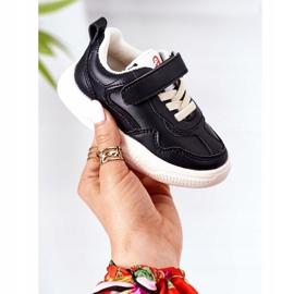 Apawwa Dziecięce Sportowe Buty Sneakersy Czarne Runner 1