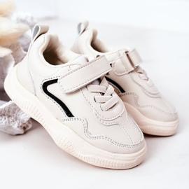 Apawwa Dziecięce Sportowe Buty Sneakersy Beżowe Runner beżowy 1