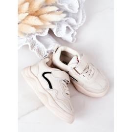 Apawwa Dziecięce Sportowe Buty Sneakersy Beżowe Runner beżowy 2