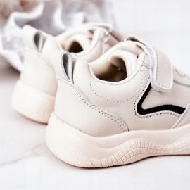 Apawwa Dziecięce Sportowe Buty Sneakersy Beżowe Runner beżowy 3