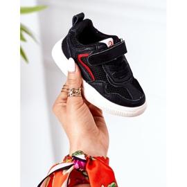 Apawwa Dziecięce Sportowe Buty Sneakersy Czarne Fun 1