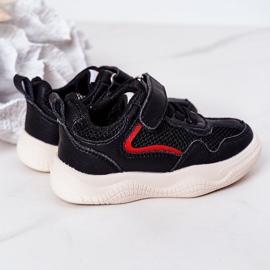 Apawwa Dziecięce Sportowe Buty Sneakersy Czarne Fun 2