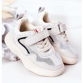 Apawwa Dziecięce Sportowe Buty Sneakersy Beżowe Fun beżowy 2