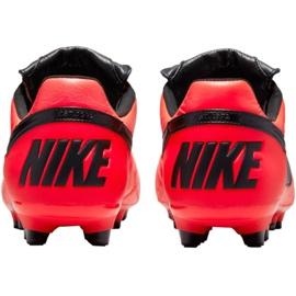 Buty piłkarskie Nike The Premier Ii Fg M 917803 607 czerwone czerwone 3