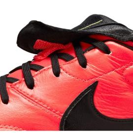 Buty piłkarskie Nike The Premier Ii Fg M 917803 607 czerwone czerwone 5