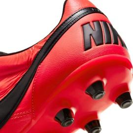 Buty piłkarskie Nike The Premier Ii Fg M 917803 607 czerwone czerwone 6