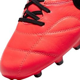Buty piłkarskie Nike The Premier Ii Fg M 917803 607 czerwone czerwone 8