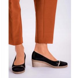 Marco Shoes Półbuty 1205P Marco na klinie czarne 5