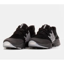 Marco Shoes Sportowe trampki z wysokiej jakości zamszu naturalnego czarne 3