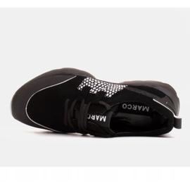 Marco Shoes Sportowe trampki z wysokiej jakości zamszu naturalnego czarne 5