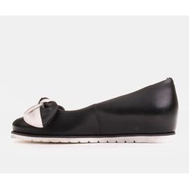 Marco Shoes Komfortowe półbuty z ukrytym klinem podwyższającym czarne 3
