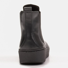 Marco Shoes Niskie trzewiki z miękkiej skóry naturalnej czarne 4
