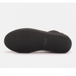 Marco Shoes Niskie trzewiki z miękkiej skóry naturalnej czarne 7
