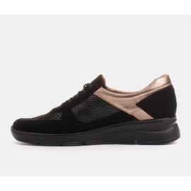 Radoskór Komfortowe półbuty na szerszą stopę na lekkiej podeszwie czarne 4