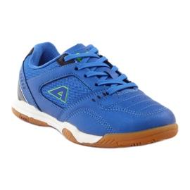 American Club ADI buty sportowe chłopięce halówka American 160706 niebieskie 1