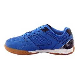 American Club ADI buty sportowe chłopięce halówka American 160706 niebieskie 2