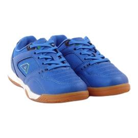 American Club ADI buty sportowe chłopięce halówka American 160706 niebieskie 4