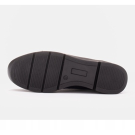 Radoskór Komfortowe półbuty na szerszą stopę na lekkiej podeszwie granatowe 6
