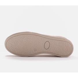 Marco Shoes Sportowe trampki z wysokiej jakości zamszu naturalnego beżowy 7
