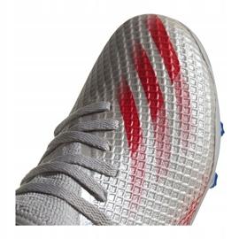 Buty adidas Jr X Ghosted.3 Mg Jr FY7290 wielokolorowe szare 2