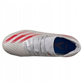 Buty adidas Jr X Ghosted.3 Mg Jr FY7290 wielokolorowe szare 3