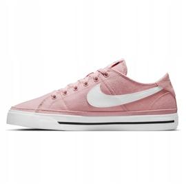 Buty Nike Court Legacy Canvas W CZ0294-601 różowe 2