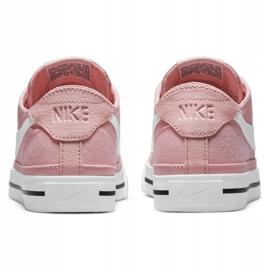 Buty Nike Court Legacy Canvas W CZ0294-601 różowe 4