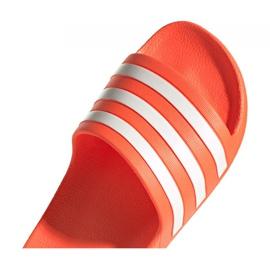 Klapki adidas Adilette Aqua W FY8096 pomarańczowe 1
