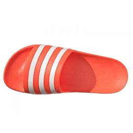 Klapki adidas Adilette Aqua W FY8096 pomarańczowe 4