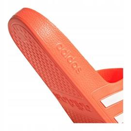 Klapki adidas Adilette Aqua W FY8096 pomarańczowe 5