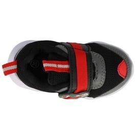 Befado obuwie dziecięce  516P096 czarne czerwone 3