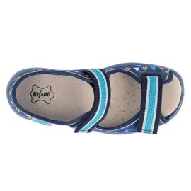 Befado obuwie dziecięce  869X164 niebieskie 3