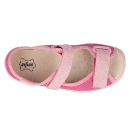 Befado obuwie dziecięce  869X162 różowe 2