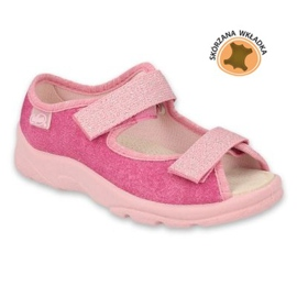 Befado obuwie dziecięce  869X162 różowe 3