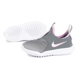 Buty Nike Flex Runner (GS) Jr AT4662-018 niebieskie 1