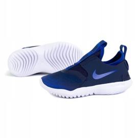 Buty Nike Flex Runner (PS) Jr AT4663-407 granatowe niebieskie 1