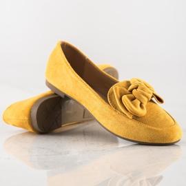 Sun Color Lordsy Z Kokardą żółte 1