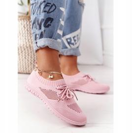 PE1 Damskie Sportowe Buty Różowe Jenny 2
