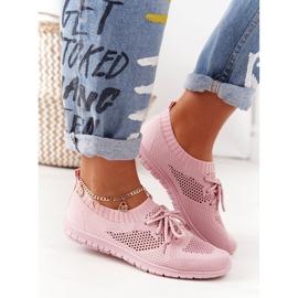 PE1 Damskie Sportowe Buty Różowe Jenny 1