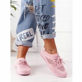 PE1 Damskie Sportowe Buty Różowe Jenny 3
