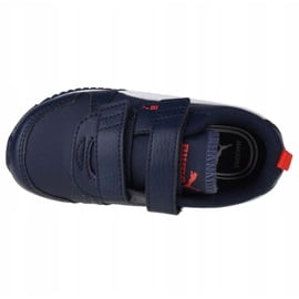 Buty Puma R78 Sl V Infants 374430 03 czarne granatowe 2