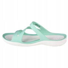 Klapki Crocs W Swiftwater Sandals 203998-3U3 niebieskie 1