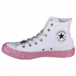 Buty Converse X Miley Cyrus Chuck Taylor Hi All Star W 162239C białe 1