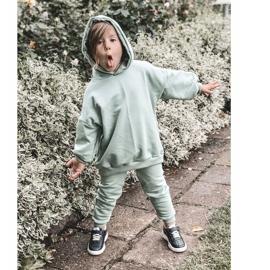 Apawwa Dziecięce Sportowe Buty Sneakersy Czarne Runner 5