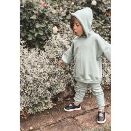 Apawwa Dziecięce Sportowe Buty Sneakersy Czarne Runner 4