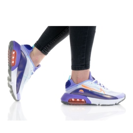 Nike Buty Air Max 2090 Se 2 (GS) W DA2417-100 białe fioletowe 1