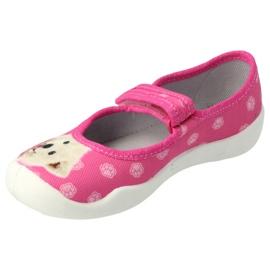 Befado obuwie dziecięce  114X456 różowe 3